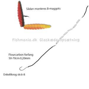Fiskeri med glaskæde