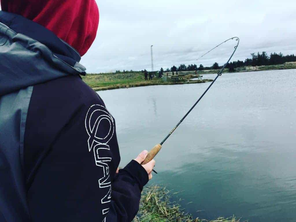 Loch Nees Put and take - Størfiskeri - ørredfiskeri