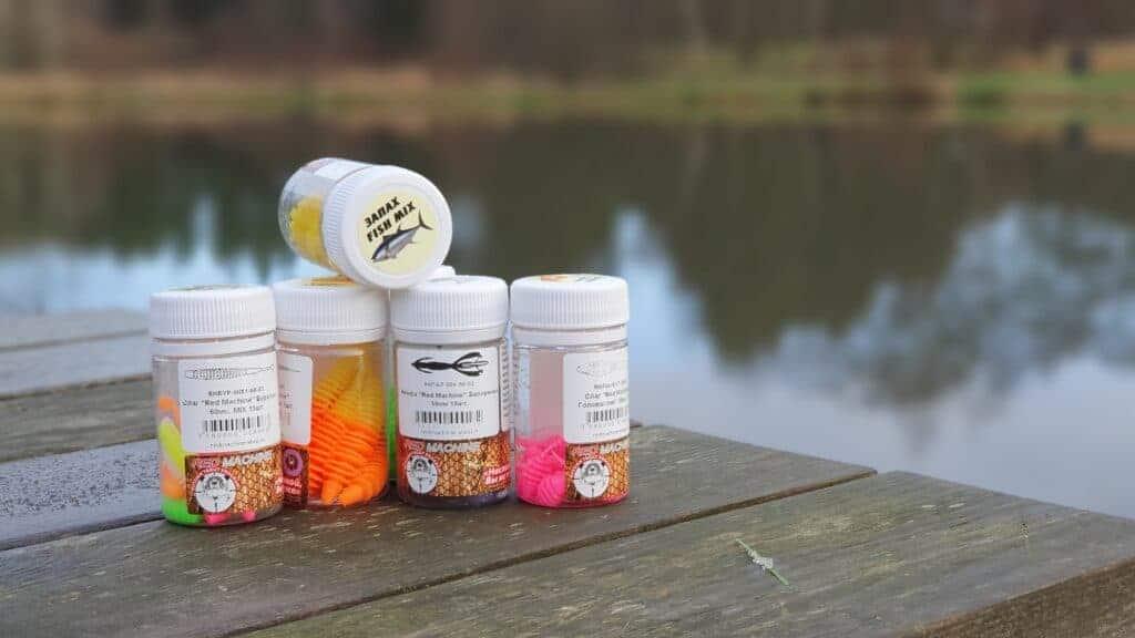 Gummidyr fra redmachine - Fish innovation - Pro-baits og FTM MMS spoons