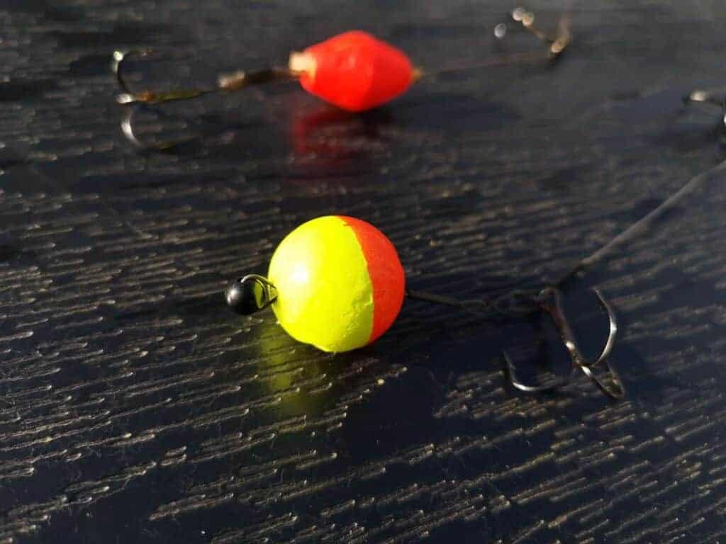 hjemmelavet pop up rig til geddefiskeri