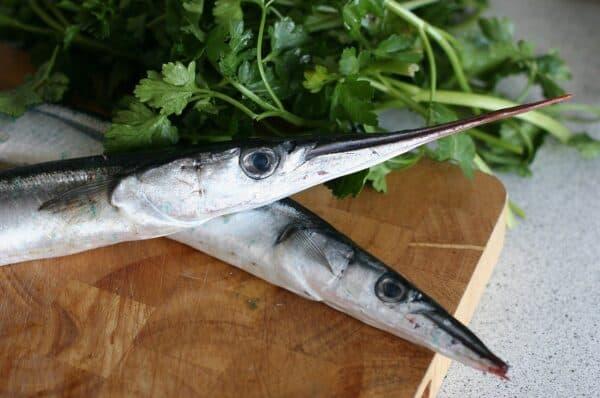 Bedste opskrift på hornfisk - Stegt hornfisk - nemt og hurtigt