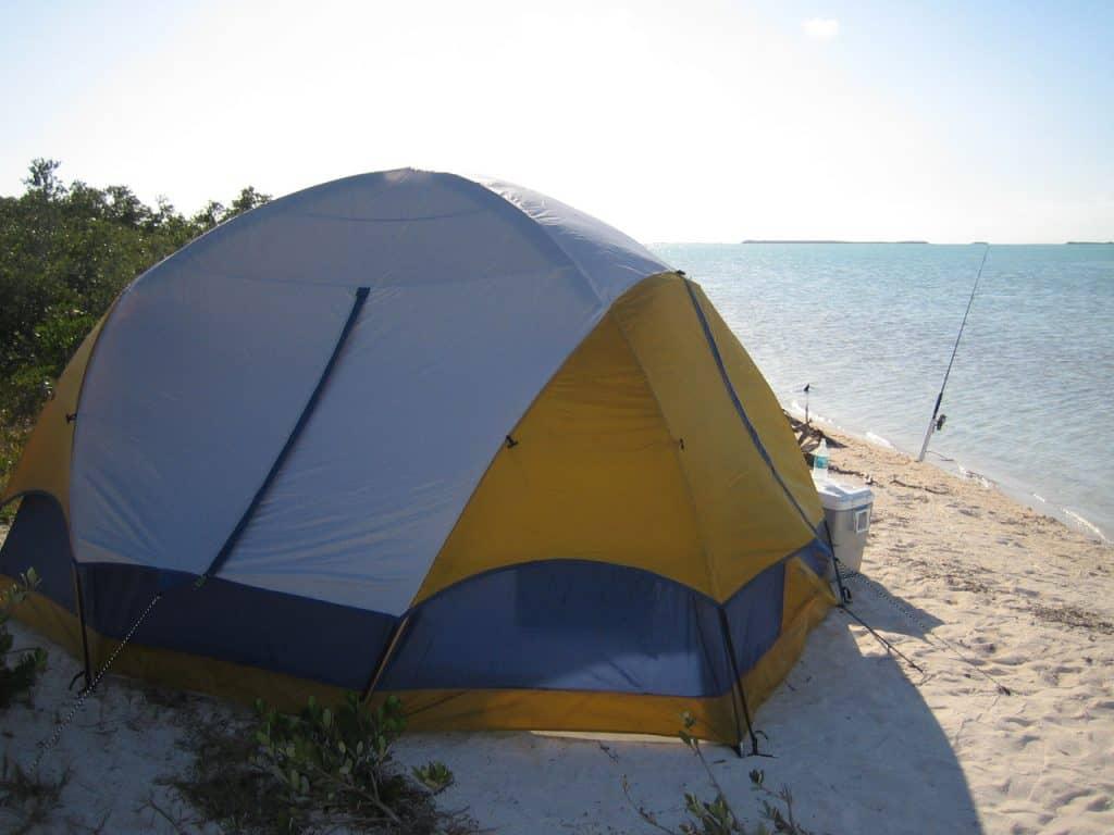billig telt til fisketur billig bivvy