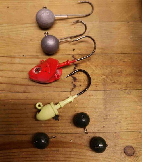 Jighoved til fiskeri efter gedde