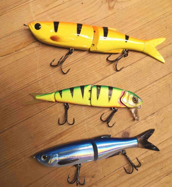 swimbait til geddefiskeri