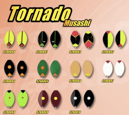 Tornado Musashi gennemløber ftm